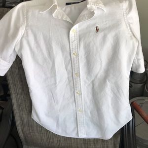 Just In Ralph Lauren perfect white oxford shirt